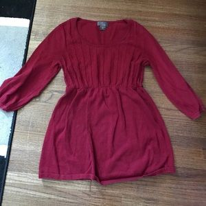Oh Baby used red maternity sweater